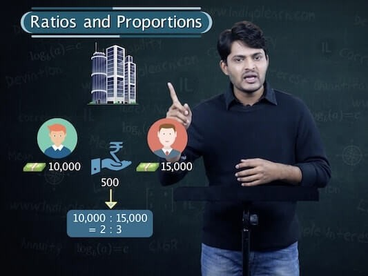 Ratio and Proportion, Indices, Logarithms