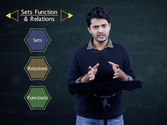 Sets, Functions and Relations
