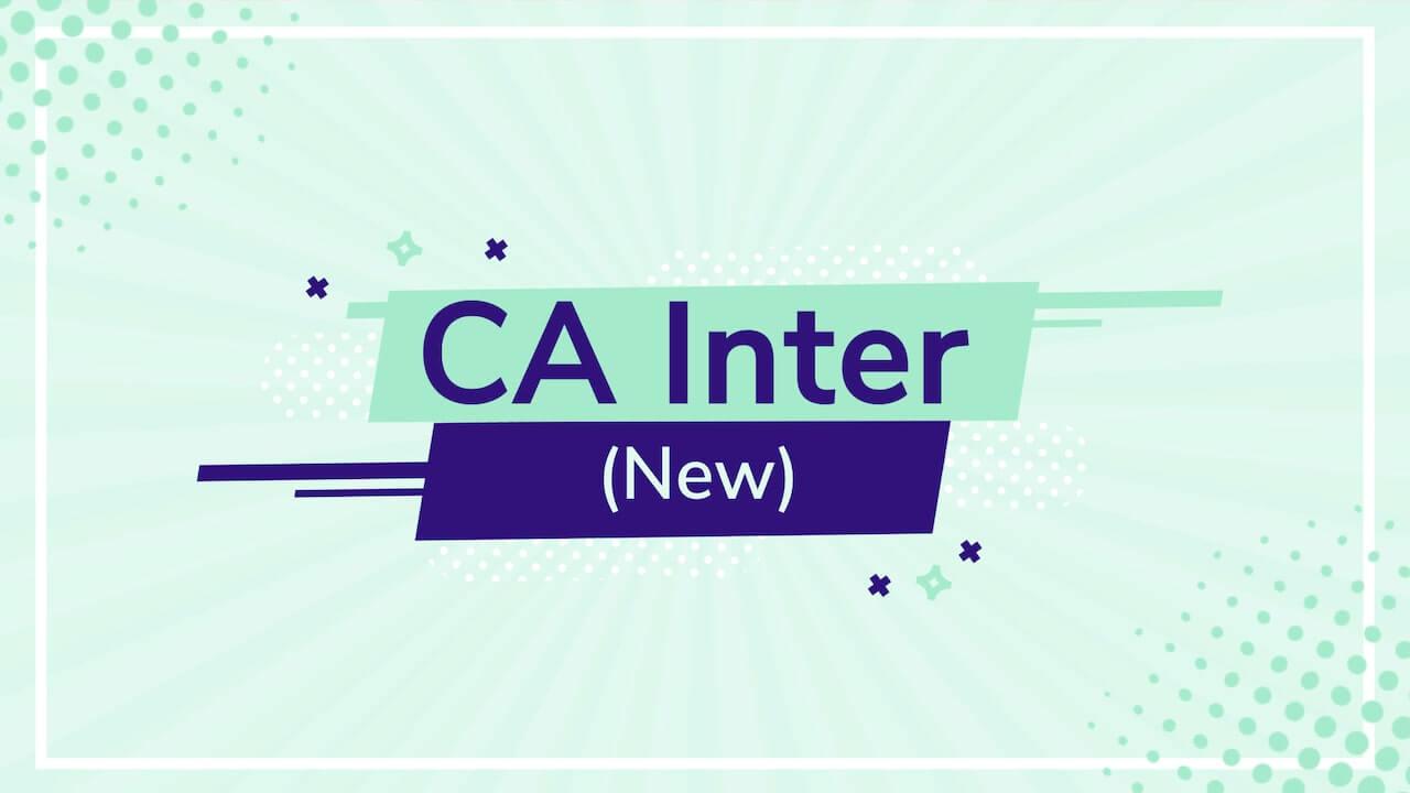 CA Inter (New)