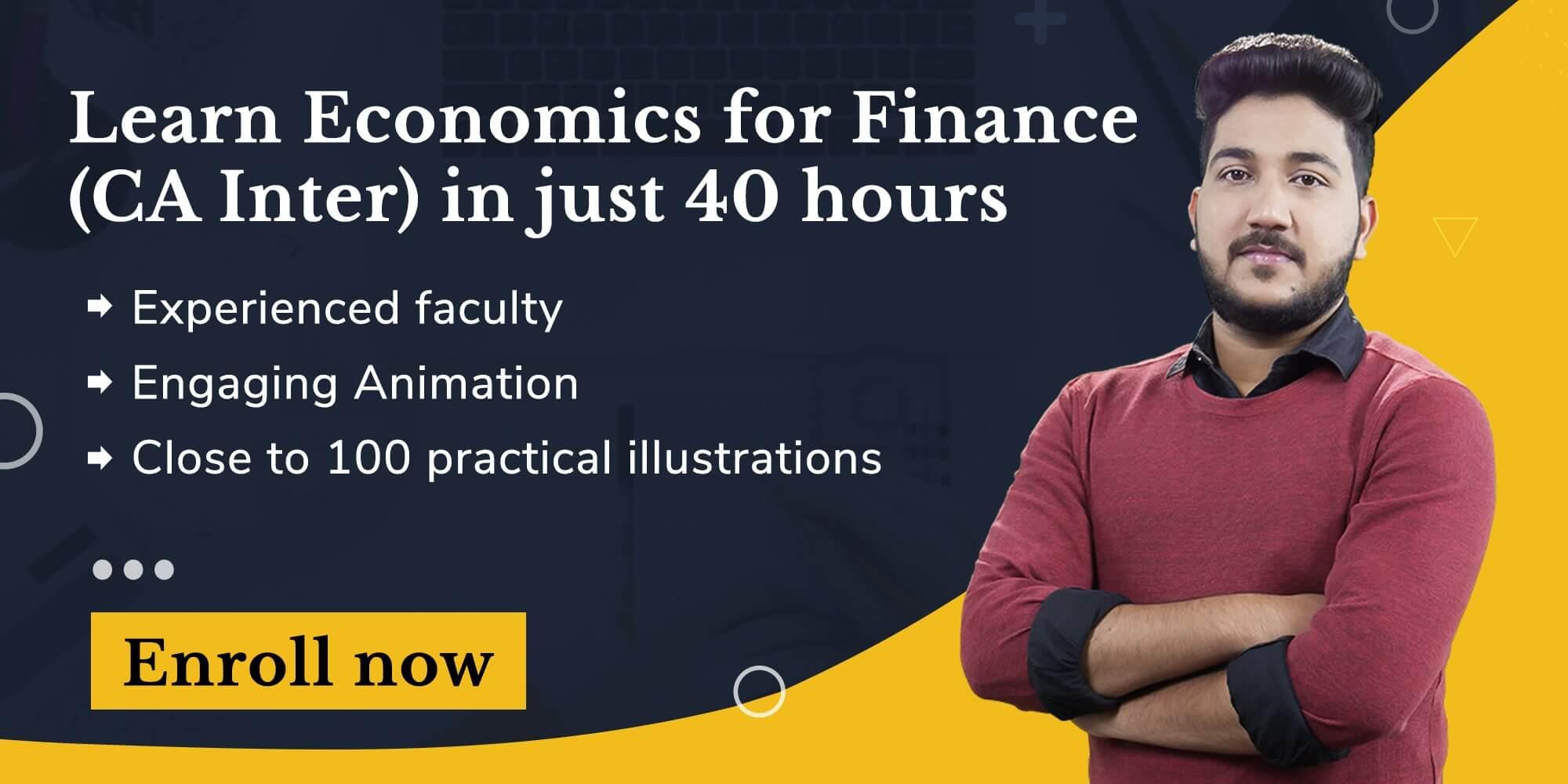 Economics for Finance Launch