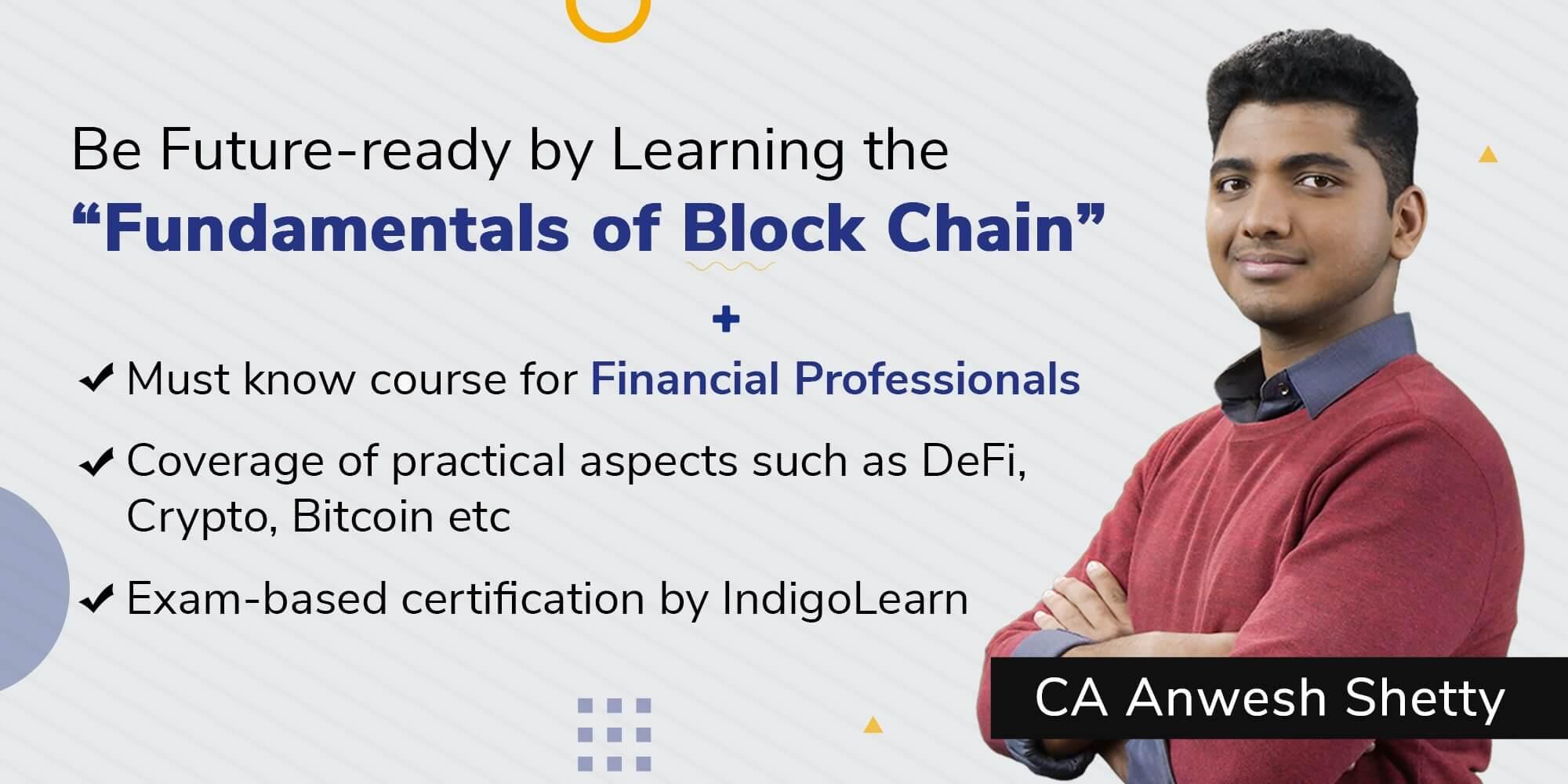 Fundamentals of Blockchain