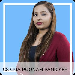 CS, CWA Poonam