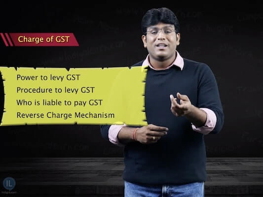 Charge of GST