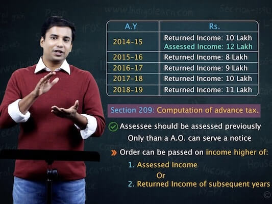 Advance Tax, Tax Deduction at Source and Introduction to Tax Collection at Source